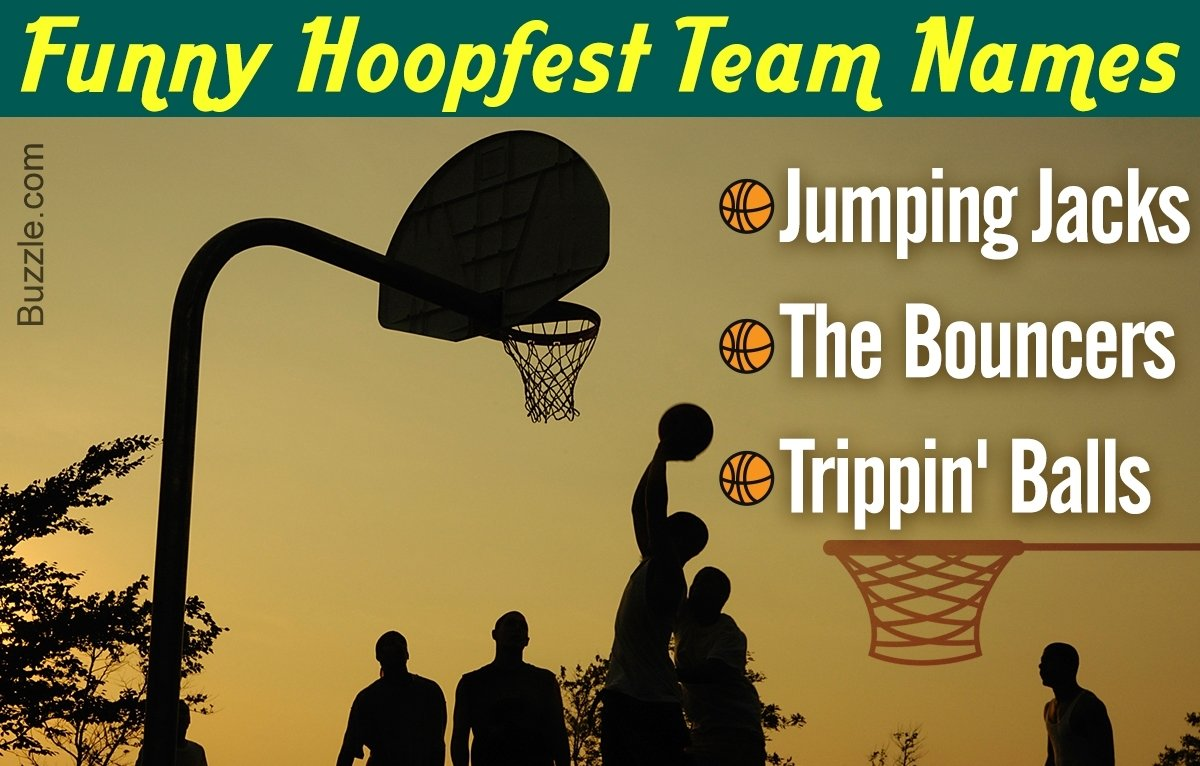 10 Stylish T Ball Team Name Ideas these 50 funny hoopfest team name ideas are going to crack you up 1