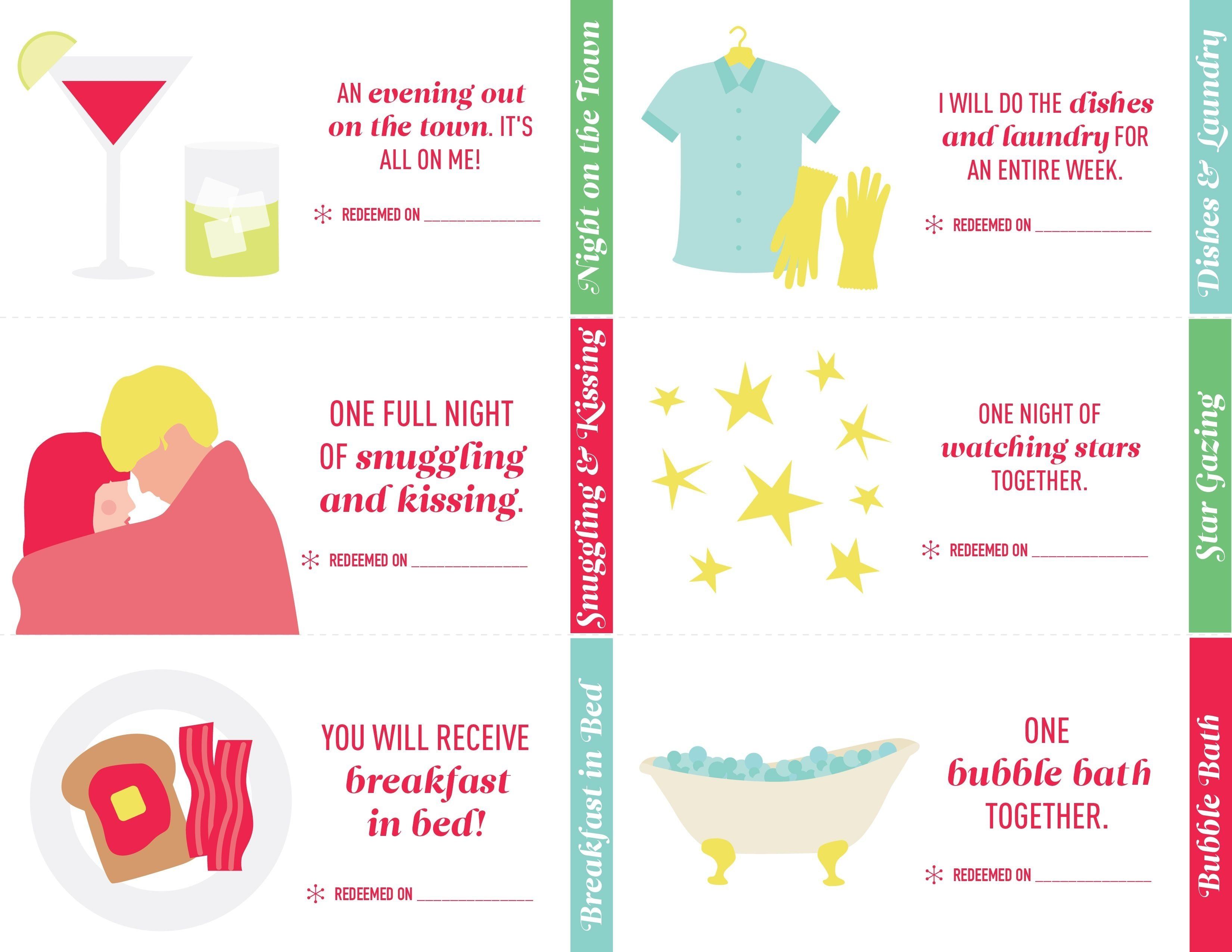 10 Fantastic Coupon Book For Husband Ideas these are love coupons youll be happy to fulfill 1 2021
