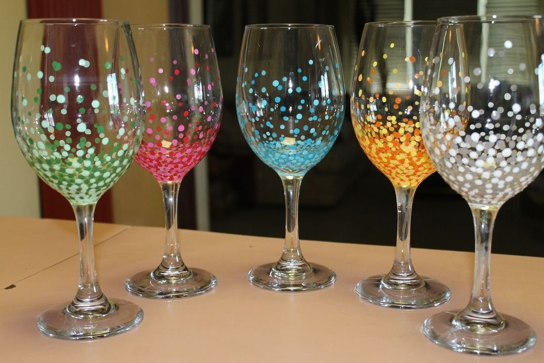 10 Cute Ideas For Painting Wine Glasses these are my hand painted wine glasses to check out more pics go to 2021