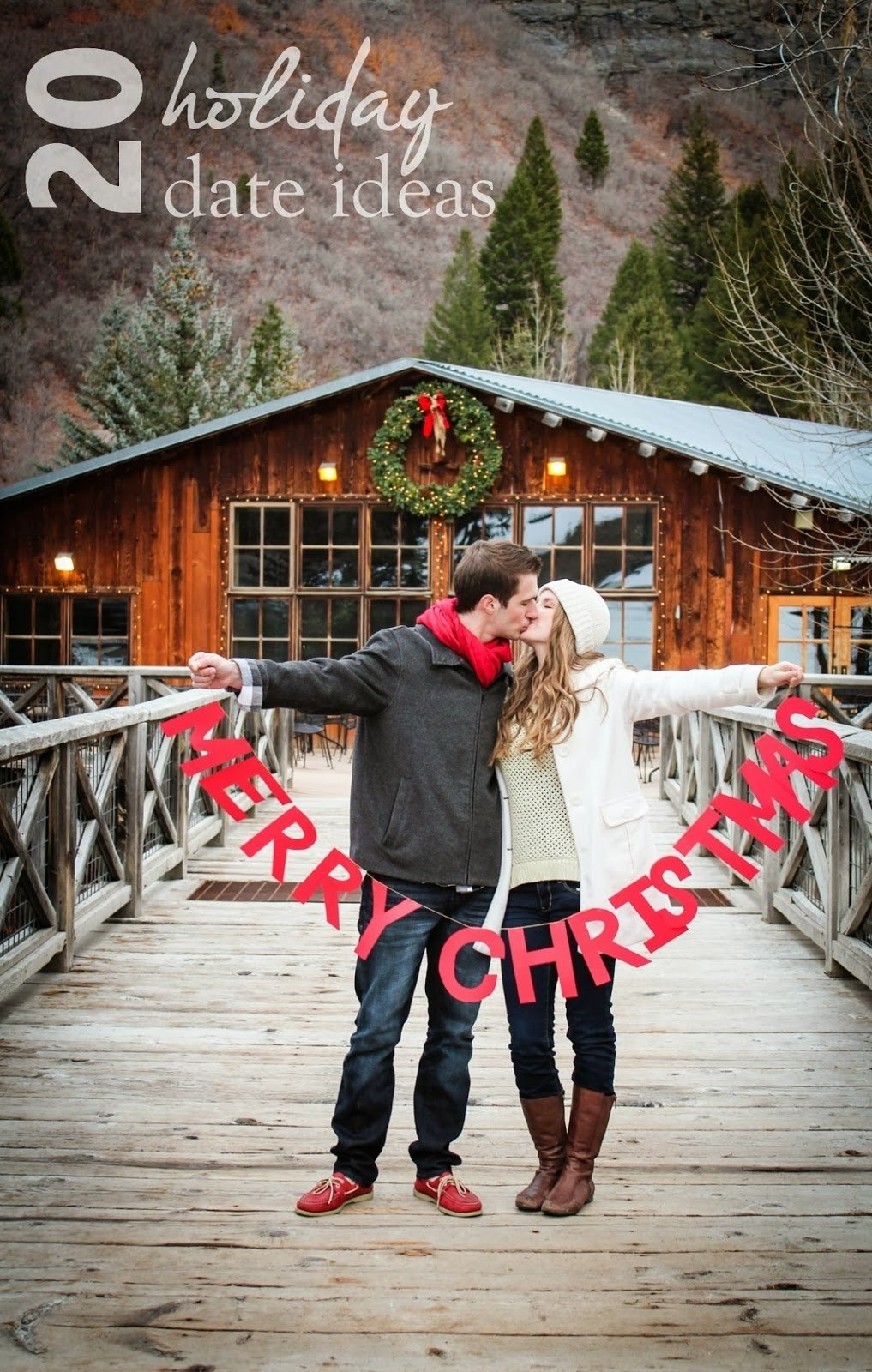 10 Beautiful Best Christmas Card Photo Ideas these are so fun 20 holiday date ideas www bellatheblog date 1