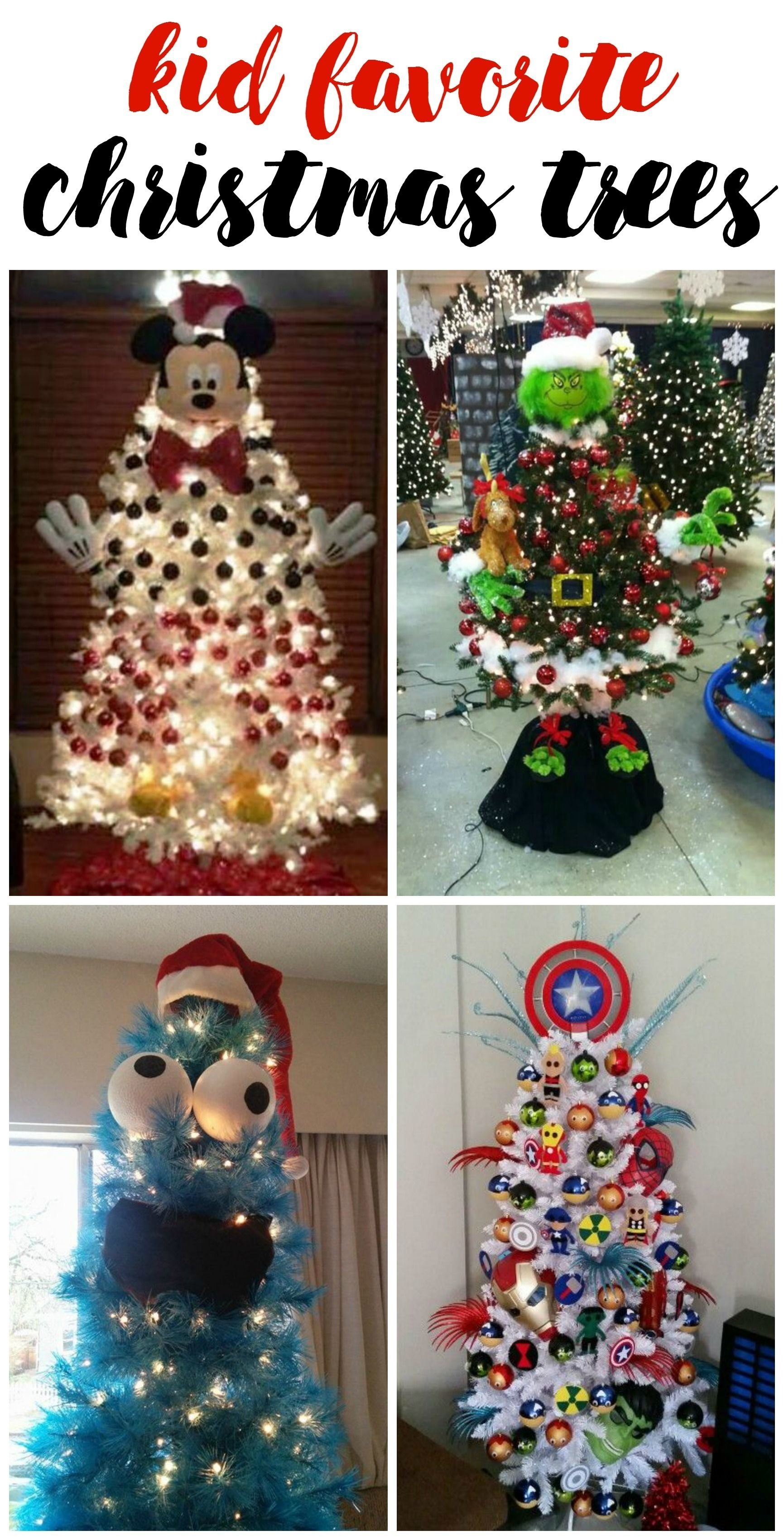 these are the best christmas tree ideas for kids to make! love them