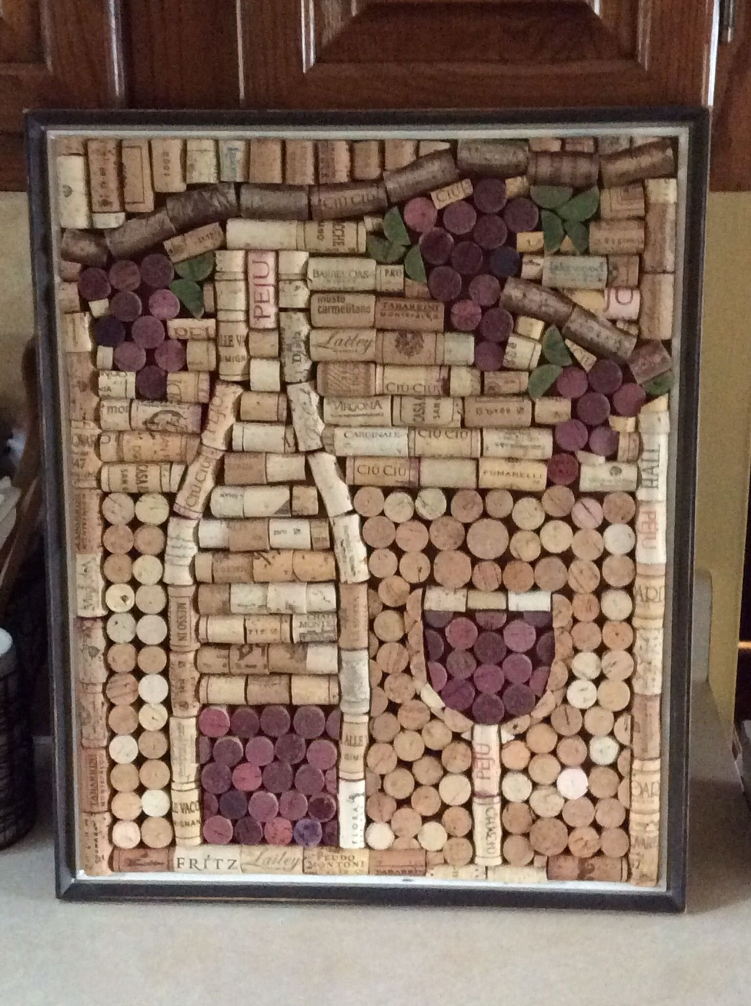 these diy decoration ideas using wine cork are enough to leave you