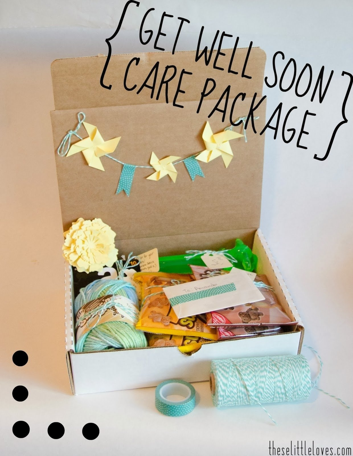 10 Cute Get Well Care Package Ideas these little loves a dont go crazy while getting better activity 2021