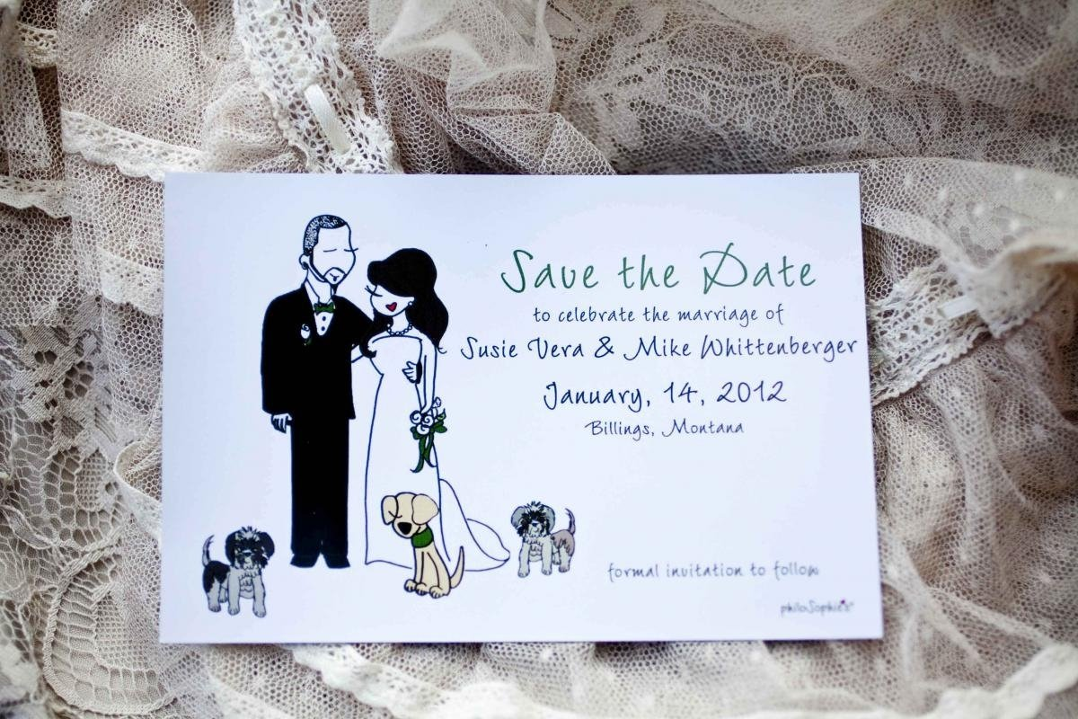 10 Amazing Cute Save The Date Ideas they can create a mini version of the two of you or a mini version