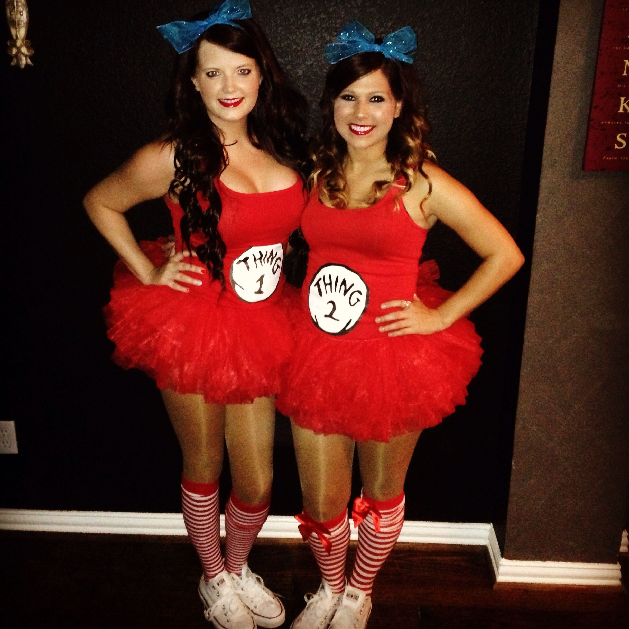 10 Elegant Costume Ideas For Two People thing 1 and thing 2 costumes cute fashion pinterest costumes 4 2021