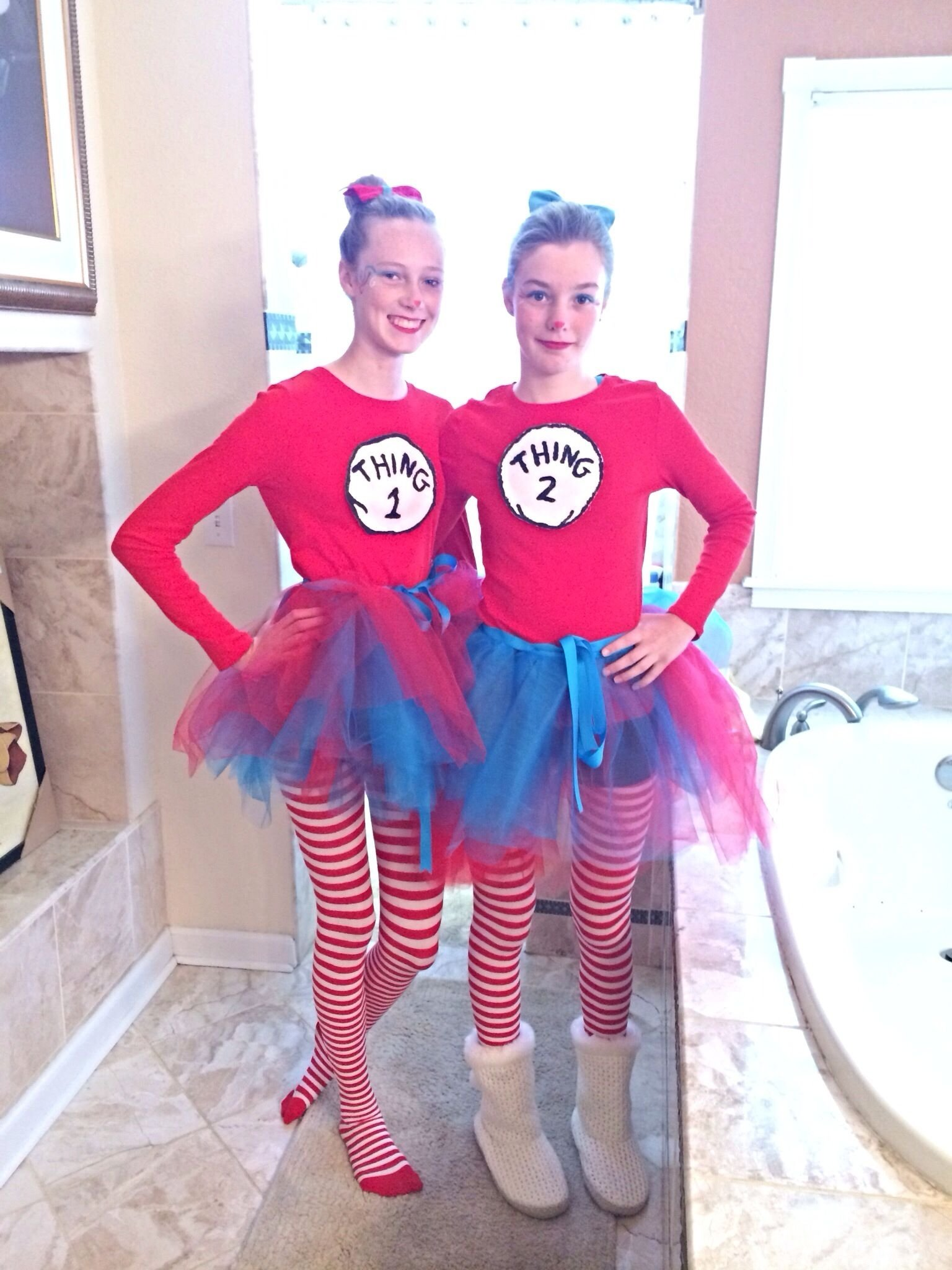 10 Unique Thing 1 And Thing 2 Costume Ideas thing 1 and thing 2 costumes tasia favorites pinterest 2021