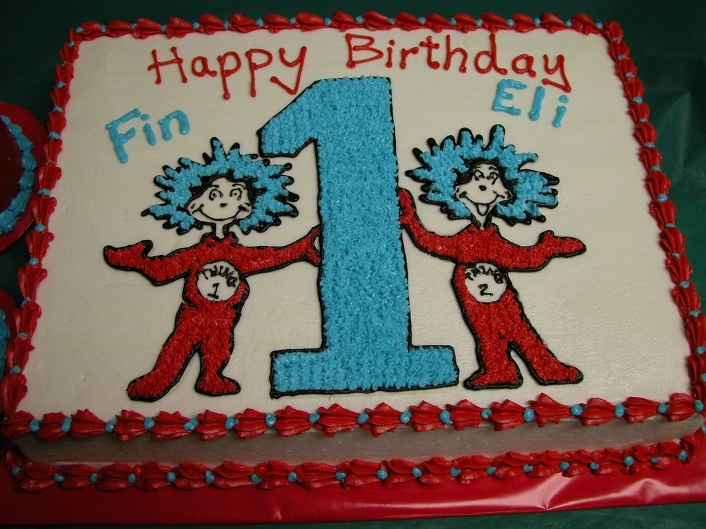 10 Awesome Thing 1 And Thing 2 Cake Ideas thing 1 thing 2 cake unique cakes and cupcakes place you flickr