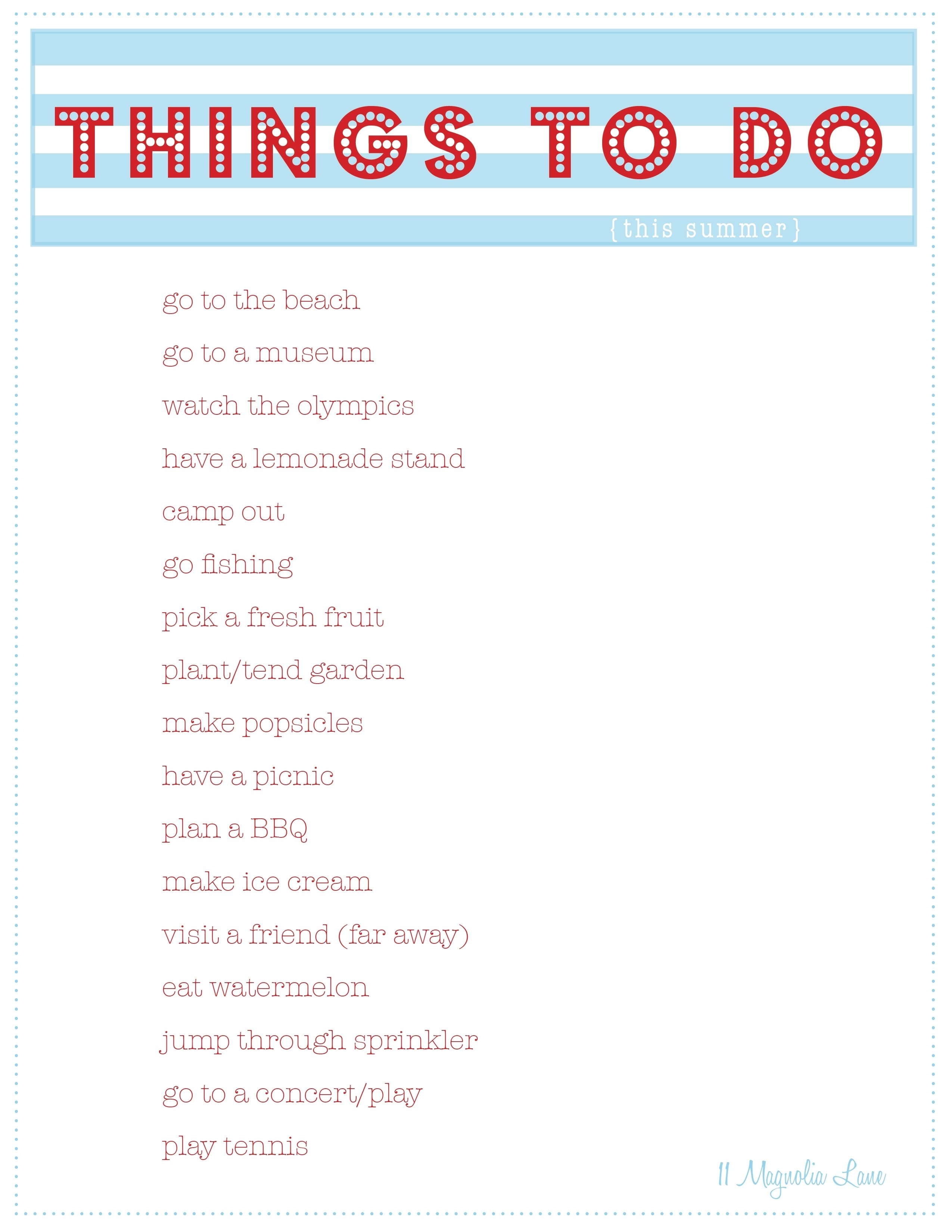 things to do with ideas
