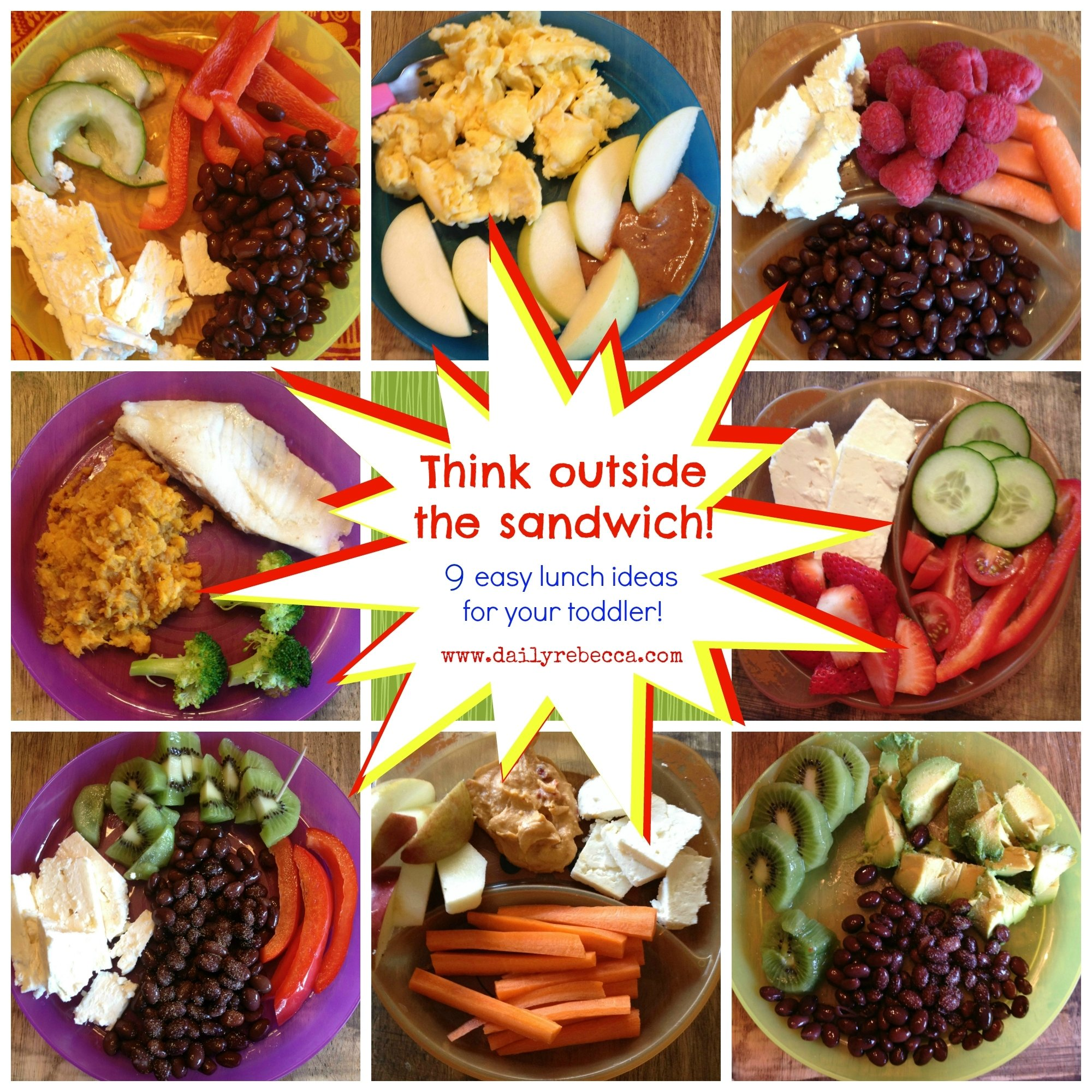 10 Attractive Healthy Lunch Ideas For Toddlers think outside the sandwich 9 easy lunch ideas for your toddler 1 2021