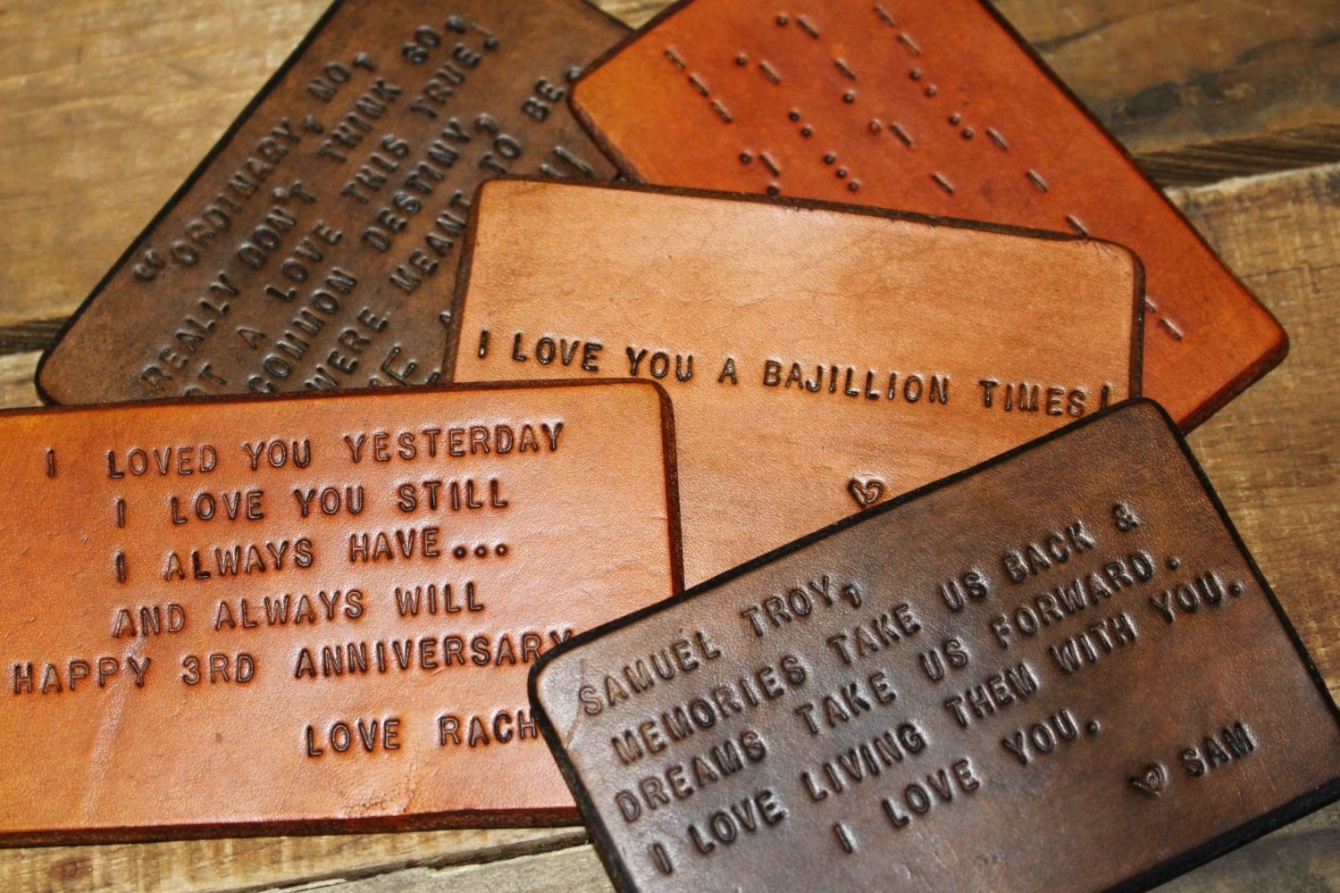 10 Wonderful Leather Anniversary Gift Ideas For Her third wedding anniversary gift gallery one third wedding anniversary 2021