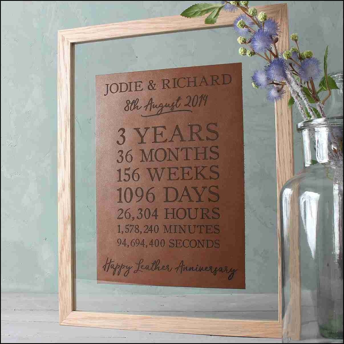 10 Elegant Third Wedding Anniversary Gift Ideas third wedding anniversary gift ideas evgplc 2020