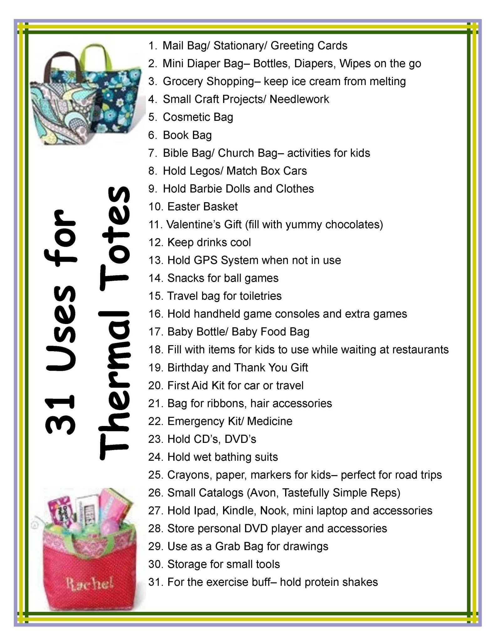 10 Pretty Embroidery Ideas For Thirty One Bags thirty one gifts giveaway ends 1 17 11 ended a little bit of 2020