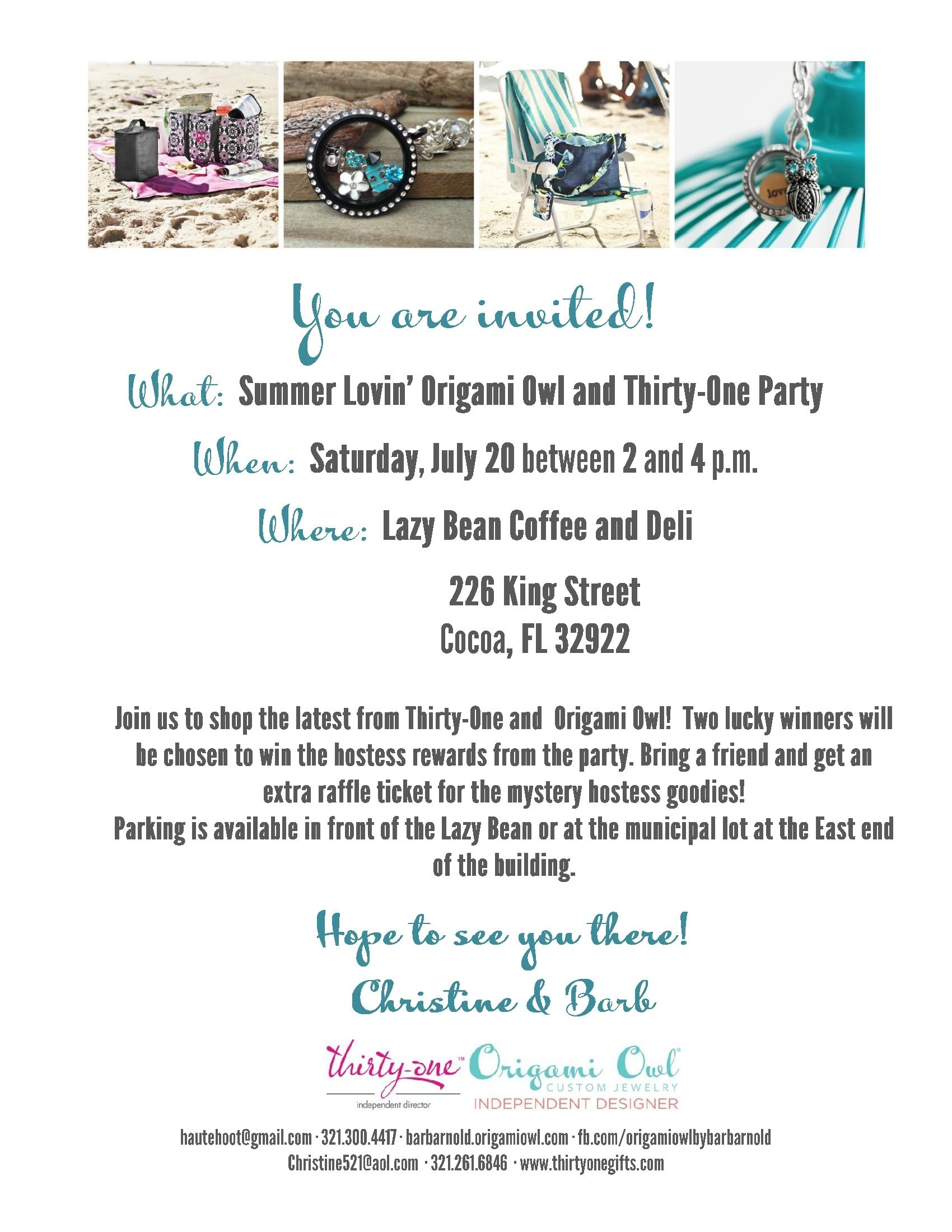 thirty one party invitation ideas - homemade party design