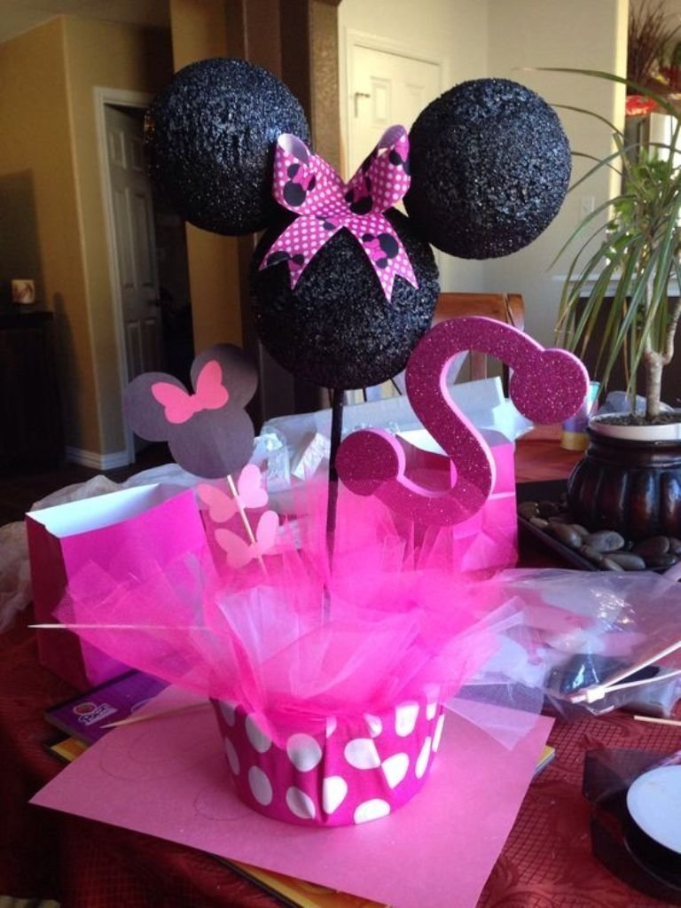 10 Trendy Minnie Mouse Table Decorations Ideas this image is about minnie mouse table decorations ideas easy and 2020