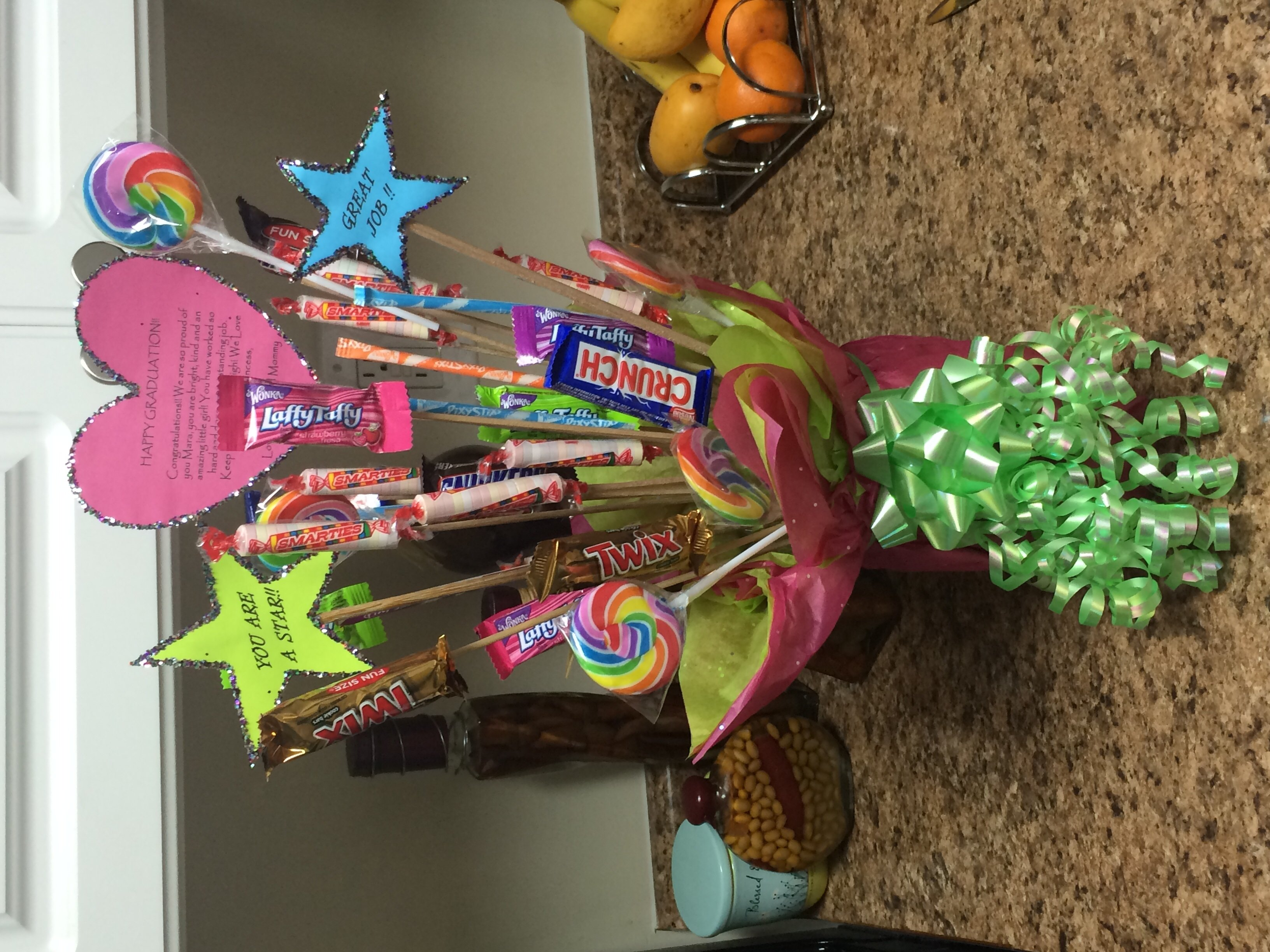 10 Lovable 5Th Grade Graduation Gift Ideas this is a t bouquet i made for my daughter s 5th grade ideas 2021
