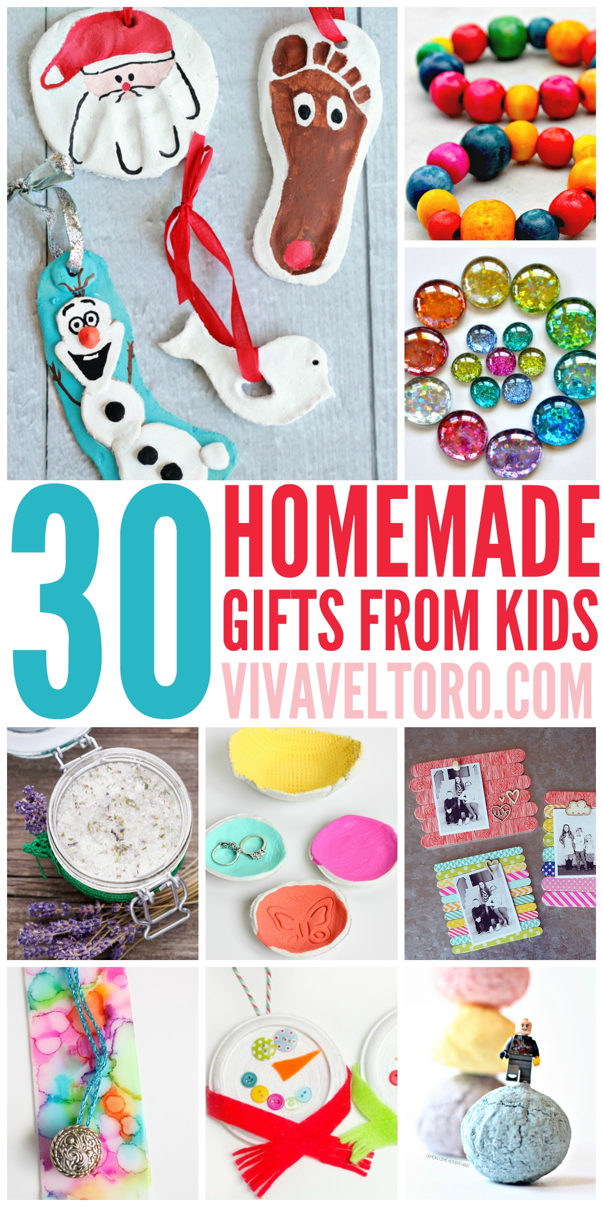 10 Unique Christmas Gift Ideas From Kids this list of full of crafts and diy homemade gift ideas for 3
