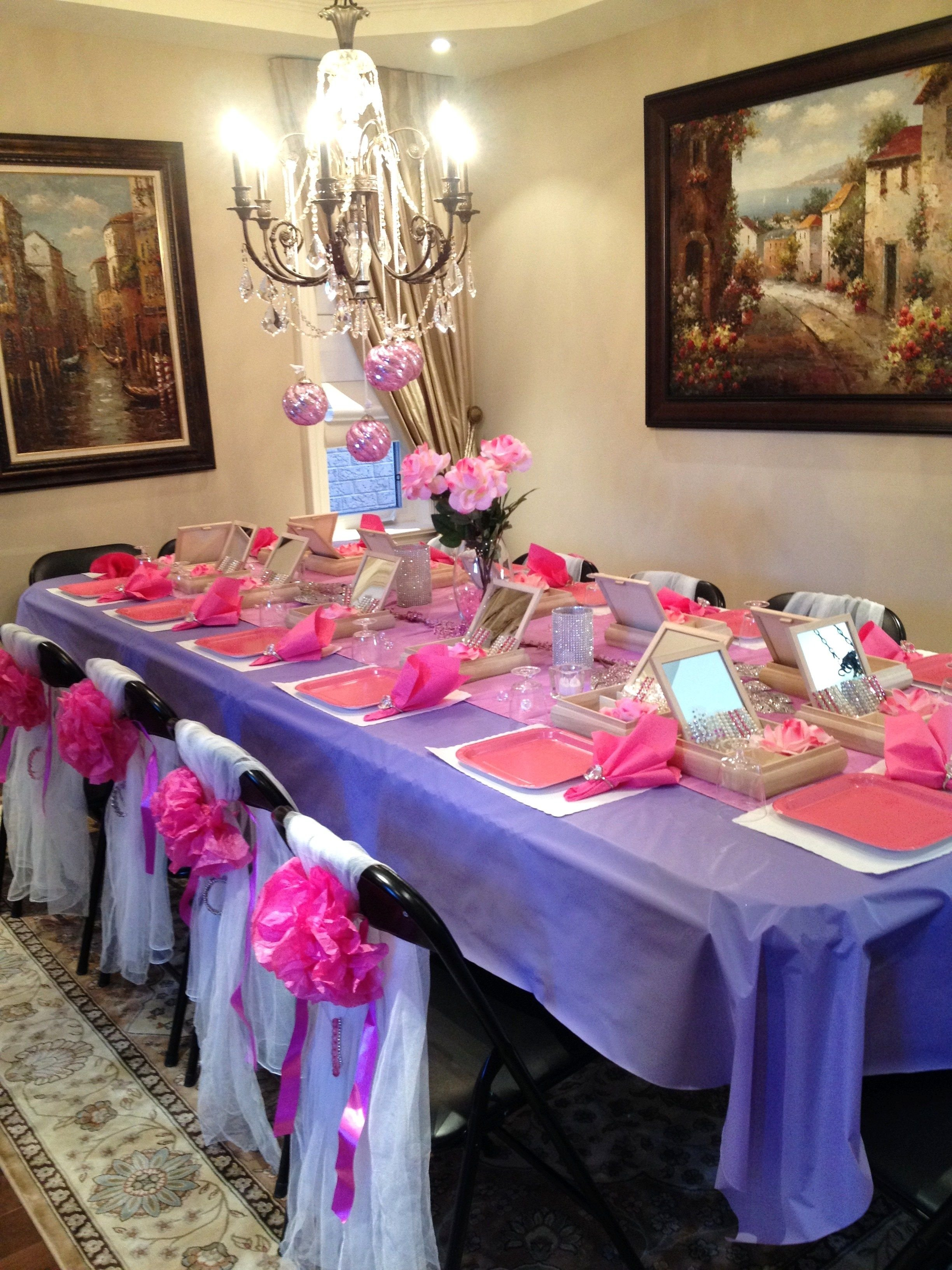 10 Gorgeous 5 Year Old Girl Birthday Party Ideas this momma went all out she created a beautiful table display to go 3 2020