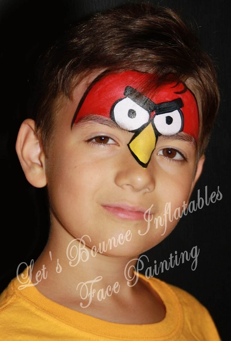 10 Attractive Face Painting Ideas For Boys this sweet little cat face paint design is easy to create for 2