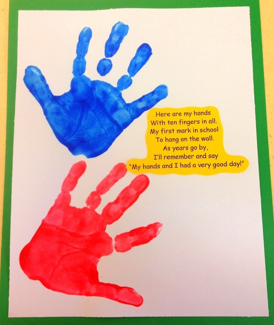 10 Fabulous First Day Of Preschool Ideas this was brought home from school one day a special teachers idea