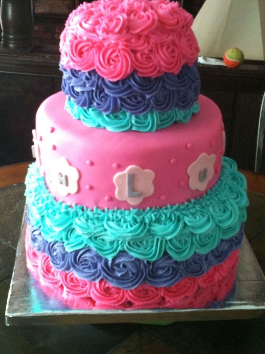 10 Amazing Little Girl Birthday Cake Ideas This Was Picked For Girls The