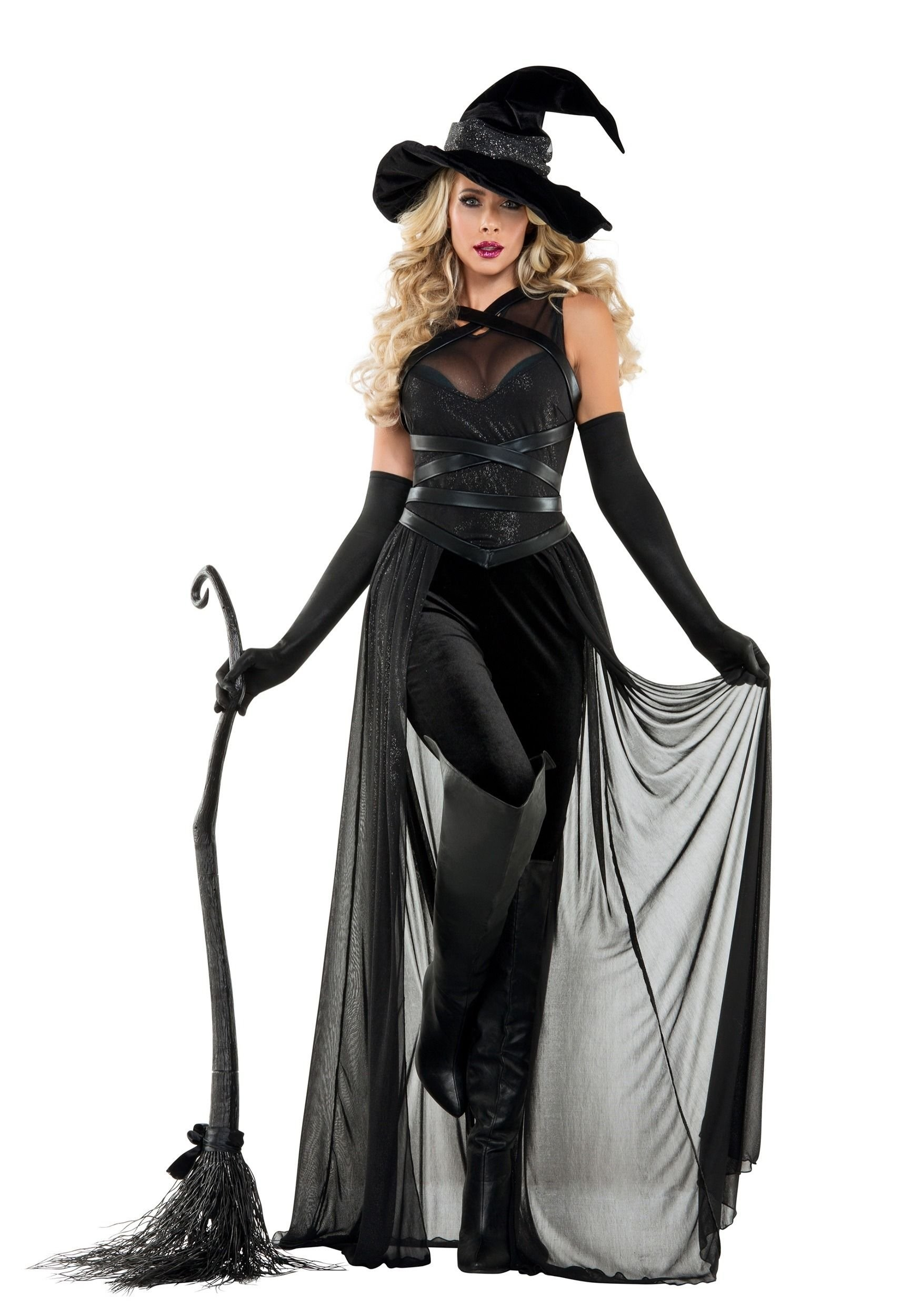 10 Wonderful Witch Costume Ideas For Women this womens raven witch costume is a unique and detailed take on 2020