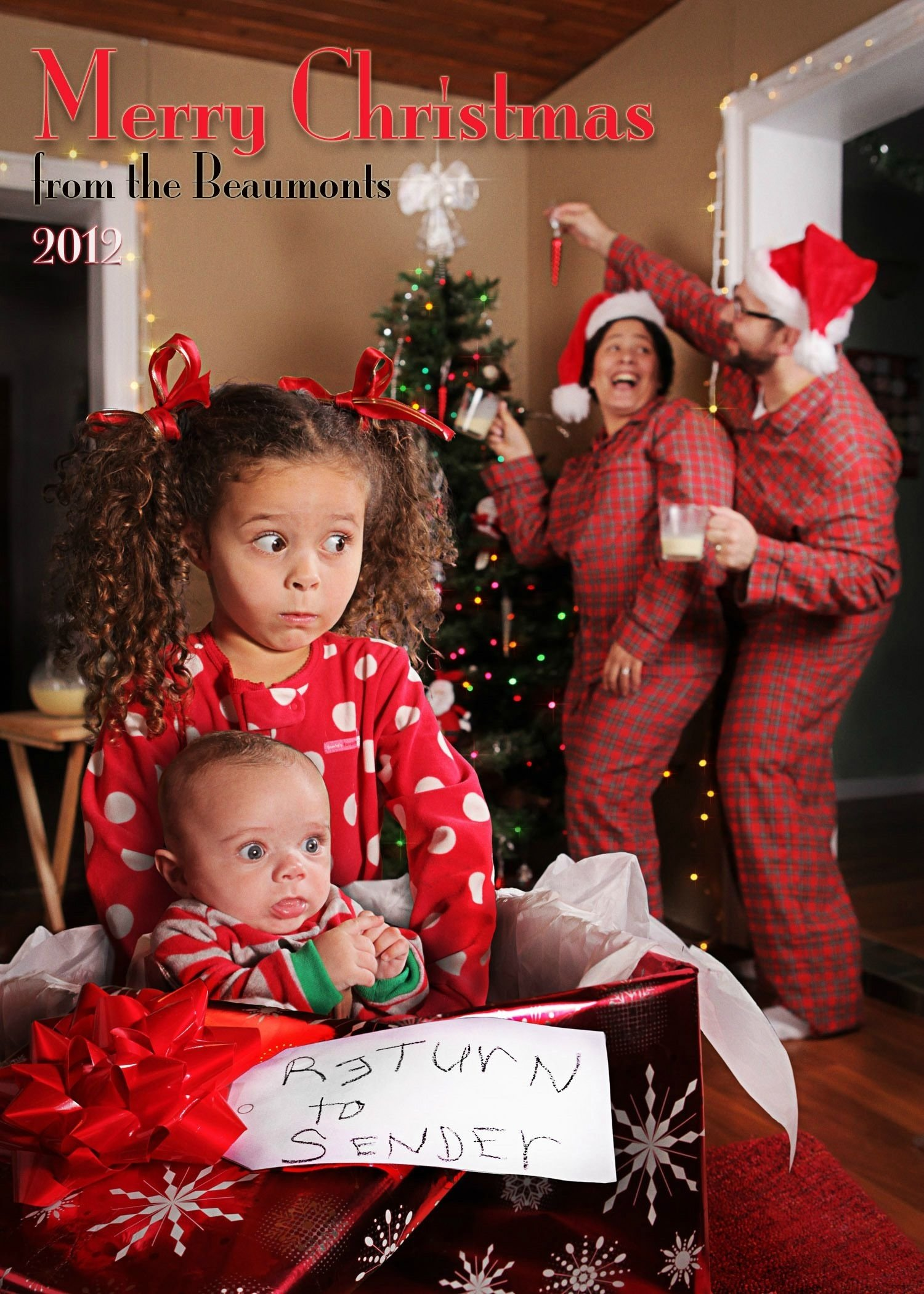 10 Nice Funny Christmas Card Photo Ideas For Kids this years christmas cardreturn to sender funny 2021