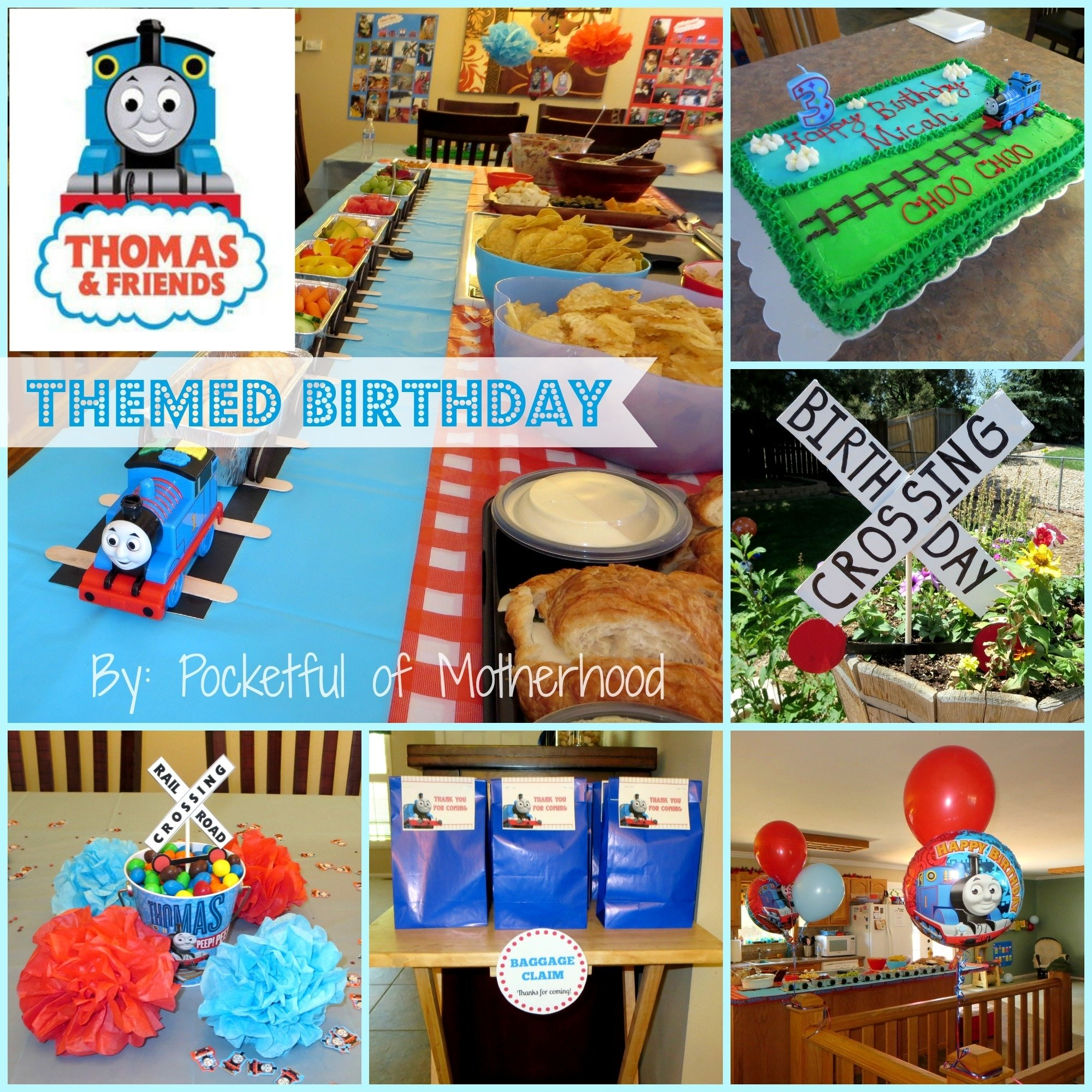 10 Most Recommended Thomas And Friends Birthday Party Ideas thomas and friends themed birthday party pocketful of motherhood 2 2020