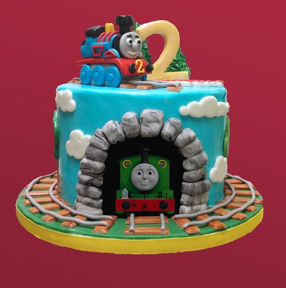 10 Nice Thomas And Friends Cake Ideas thomas friends birthday cake huascar co bakeshop 2020