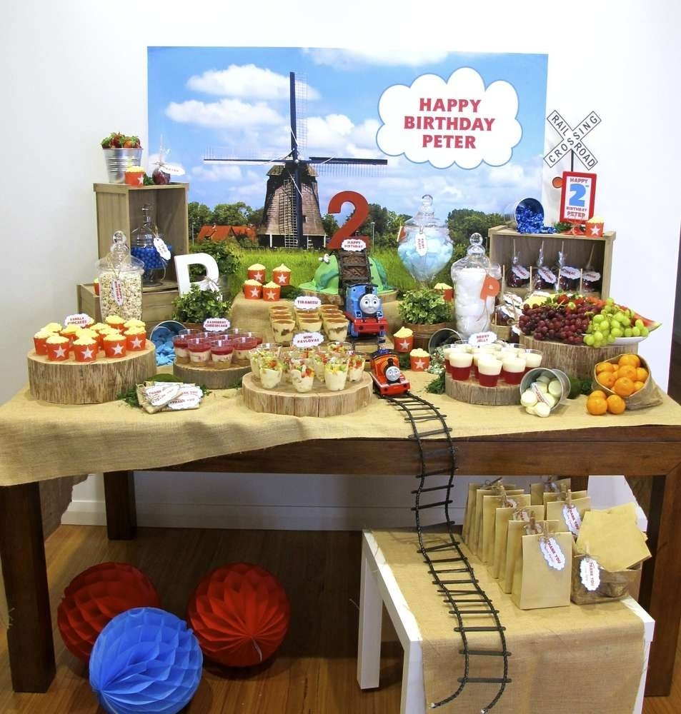 10 Most Recommended Thomas The Tank Engine Party Ideas thomas the tank engine birthday party ideas photo 1 of 19 catch