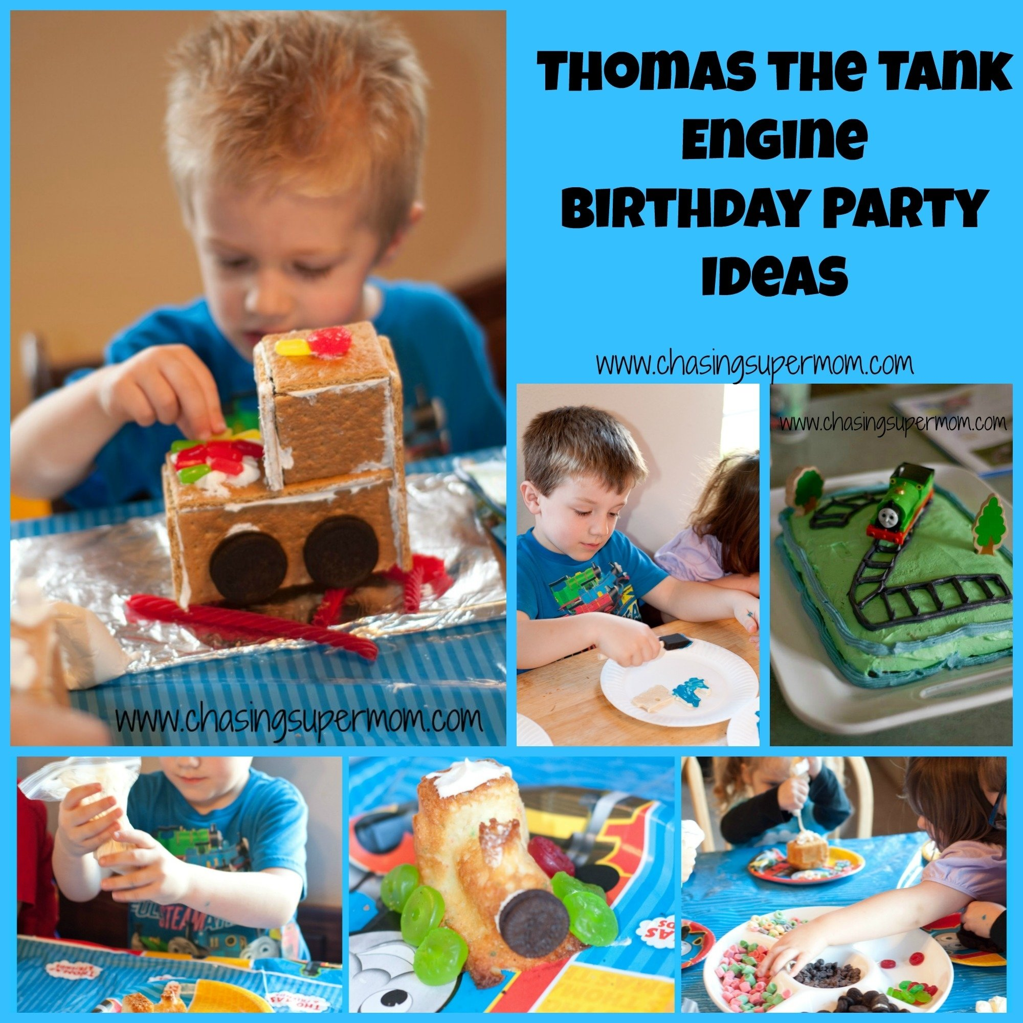 10 Most Recommended Thomas The Tank Engine Party Ideas thomas the tank engine birthday party train party ideas chasing