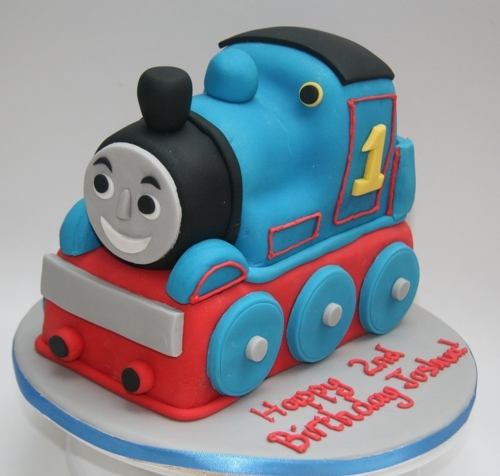 10 Attractive Thomas The Train Birthday Cake Ideas