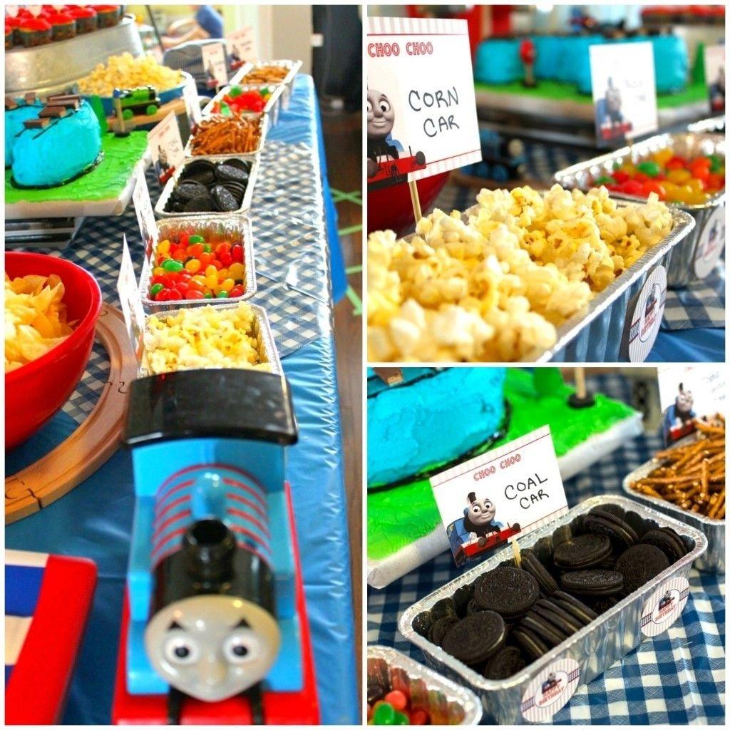 10 Fabulous Thomas The Train Party Food Ideas thomas the train birthday party birthdays birthday party ideas 2021