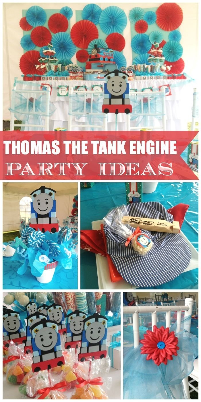 10 Most Recommended Thomas The Tank Engine Party Ideas thomas the train birthday thomas and friends birthday party