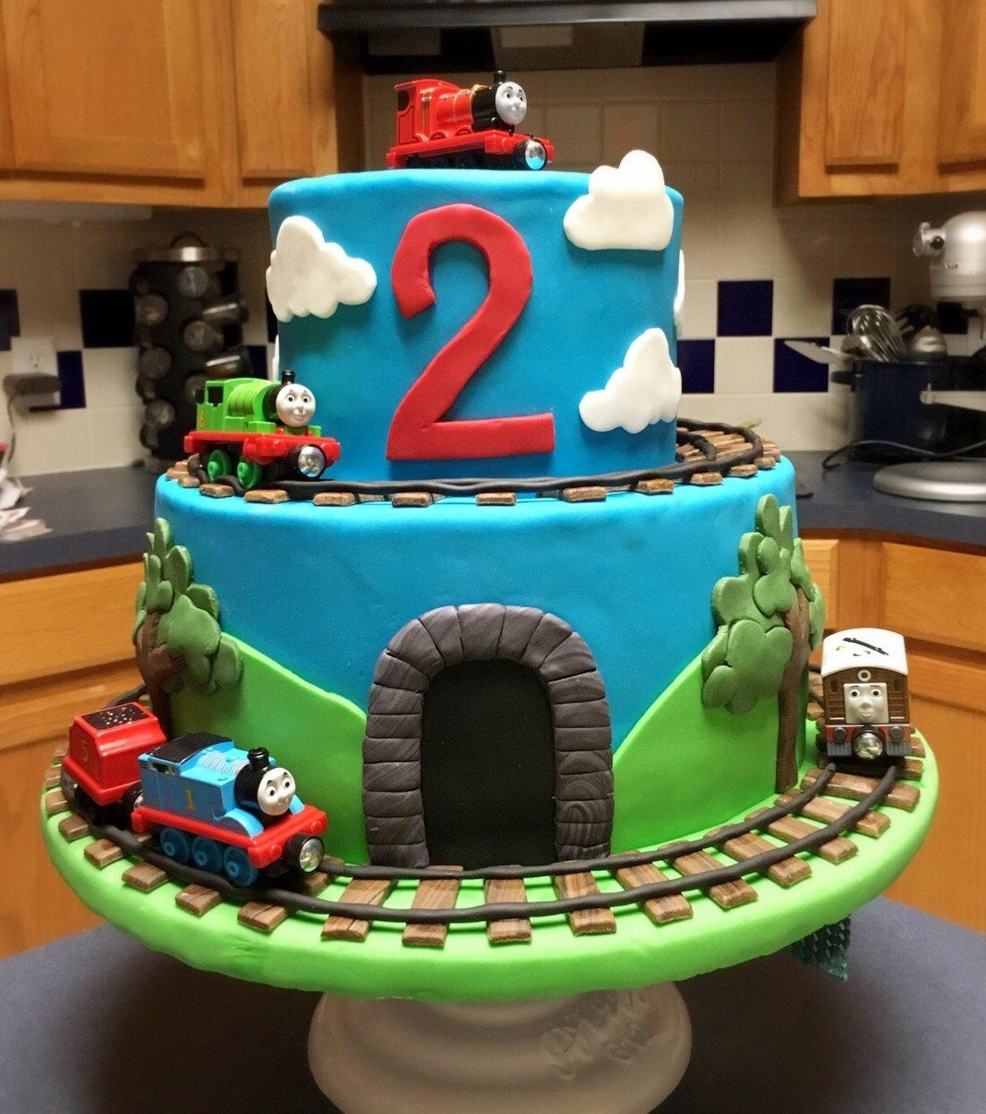 10 Amazing Thomas The Train Cakes Ideas thomas the train cake noah pinterest cake birthdays and 1 2021