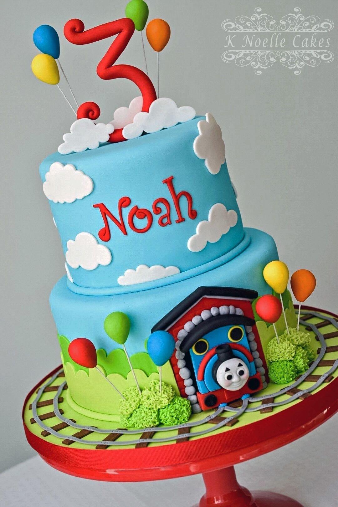 10 Nice Thomas And Friends Cake Ideas thomas the train cakek noelle cakes cakes by k noelle cakes 1 2020