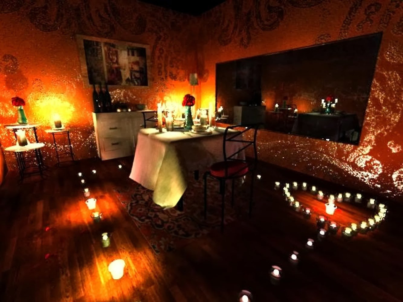 10 Fabulous Ideas For Romantic Night At Home thrifty romantic dinner party in two brooklyn locavore together with 2 2020