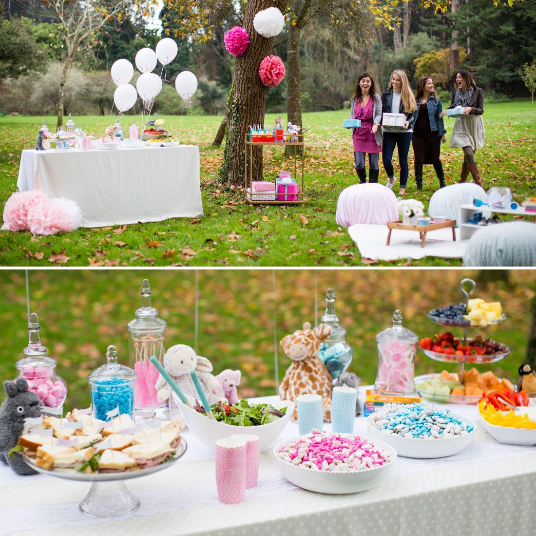 throw an outdoor baby shower for your favorite mom-to-be. | party +