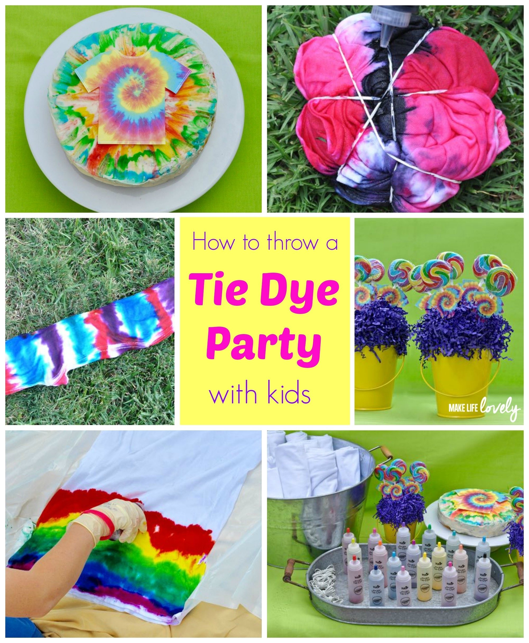 10 Most Recommended Tie Dye Birthday Party Ideas tie dye party make life lovely