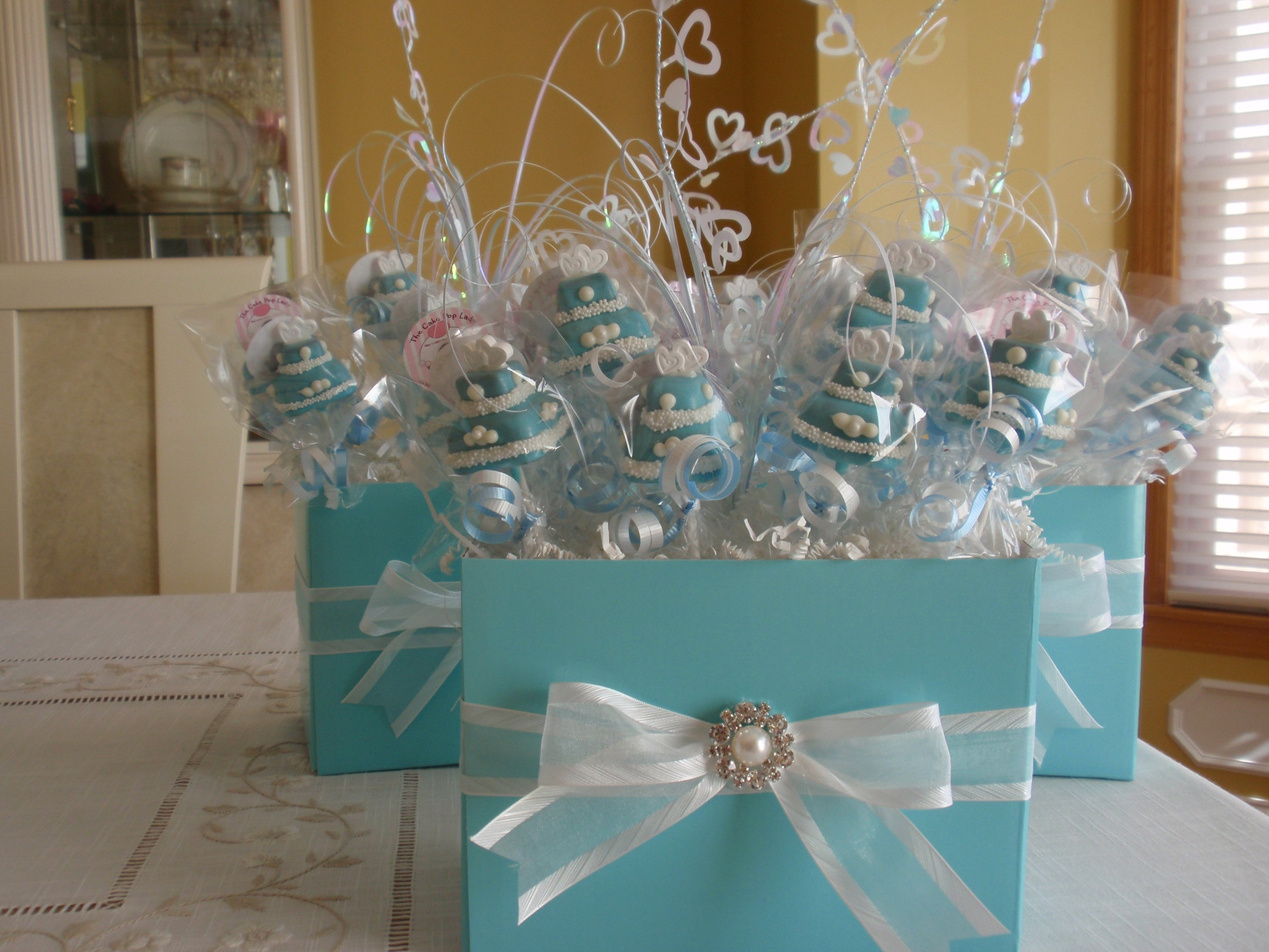 10 Pretty Diy Baby Shower Centerpiece Ideas tiffany ideas on pinterest baby shower centerpieces blue and showers 2020