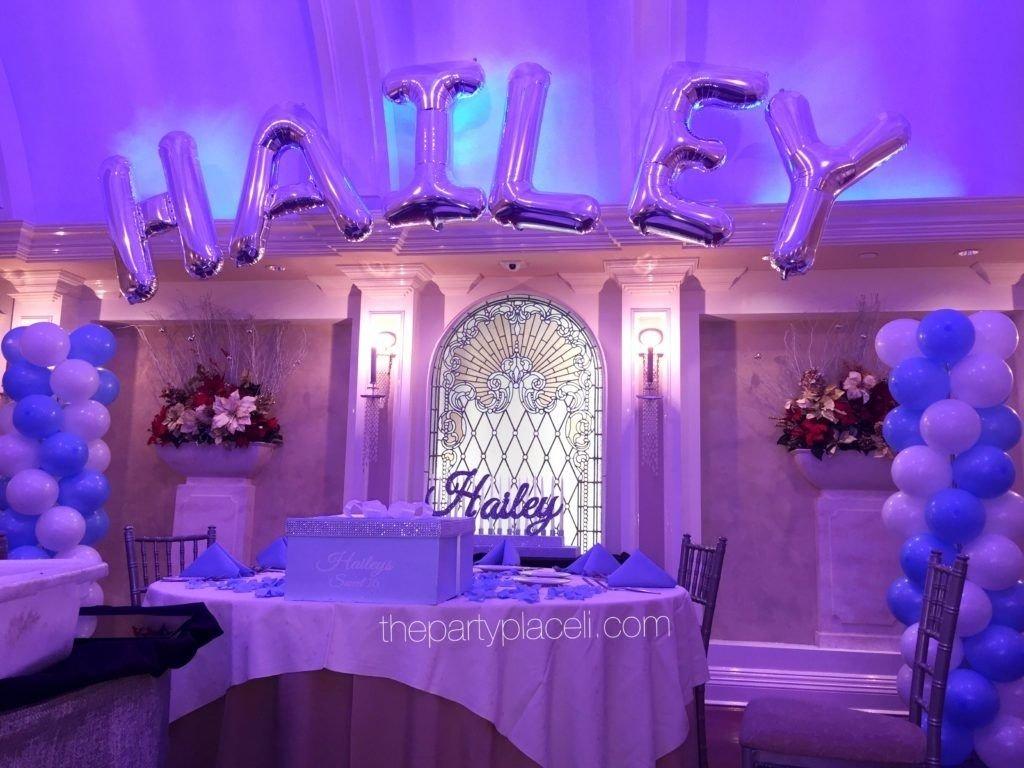 10 Fabulous Sweet Sixteen Birthday Party Ideas tiffany themed sweet 16 thepartyplaceli pinterest sweet 16 7 2021