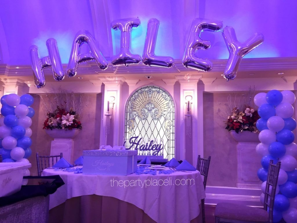 10 Stunning Ideas For A Sweet 16 tiffany themed sweet 16 thepartyplaceli pinterest sweet 16 9