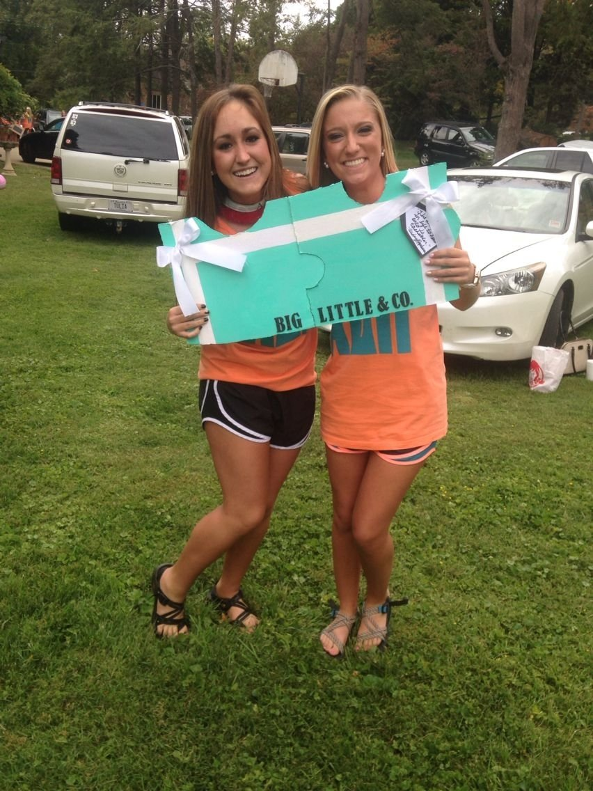 10 Ideal Sorority Big Little Reveal Ideas tiffanyco puzzle pieces for big little reveal alphadeltapi 2020