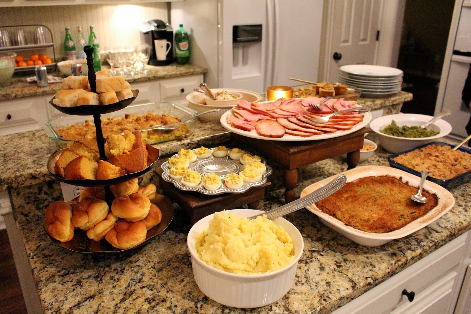 10 Awesome Christmas Ham Dinner Menu Ideas tiffanyd our christmas dinner with recipes 1 2021