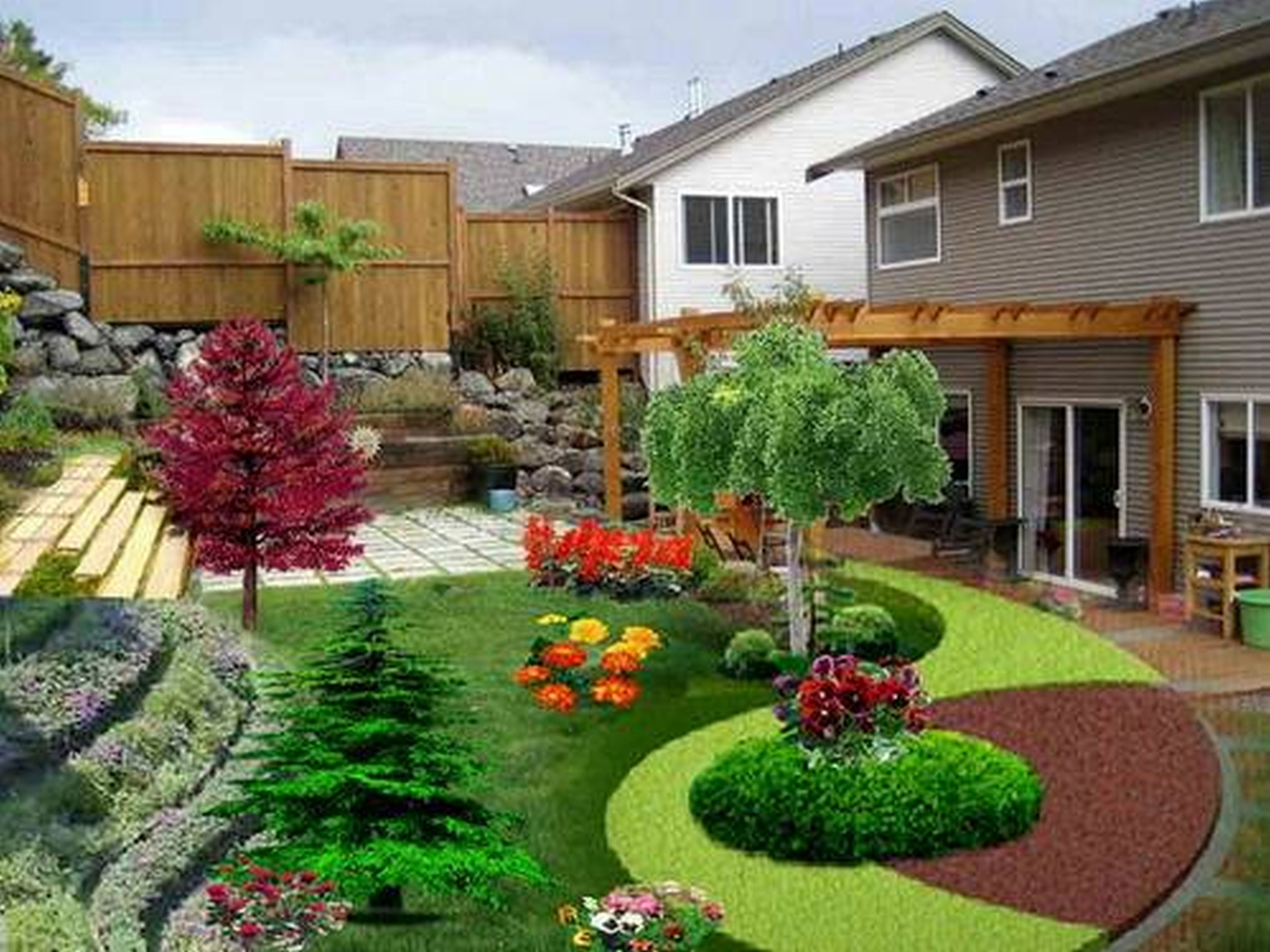 10 Great Landscaping Ideas For Front Of House tips for front yard landscaping ideas front house garden design 2020