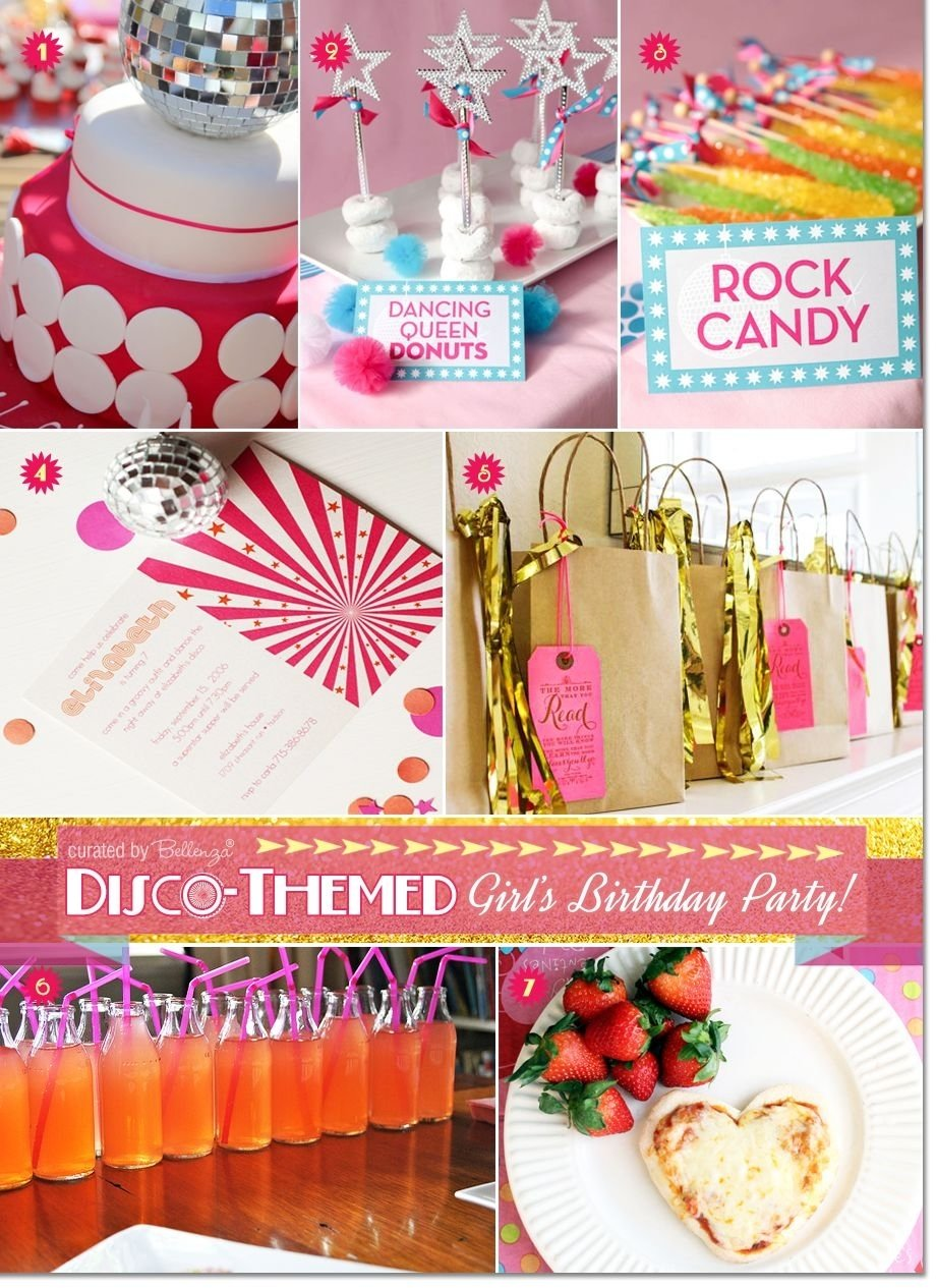 tips for planning a disco dance party for a pre-teen birthday | teen