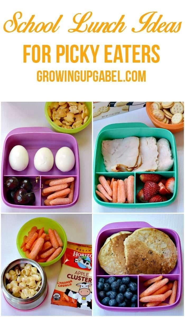 10 Fashionable Lunch Ideas For Picky Kids tired of trying to figure out what to pack your picky eater for 13