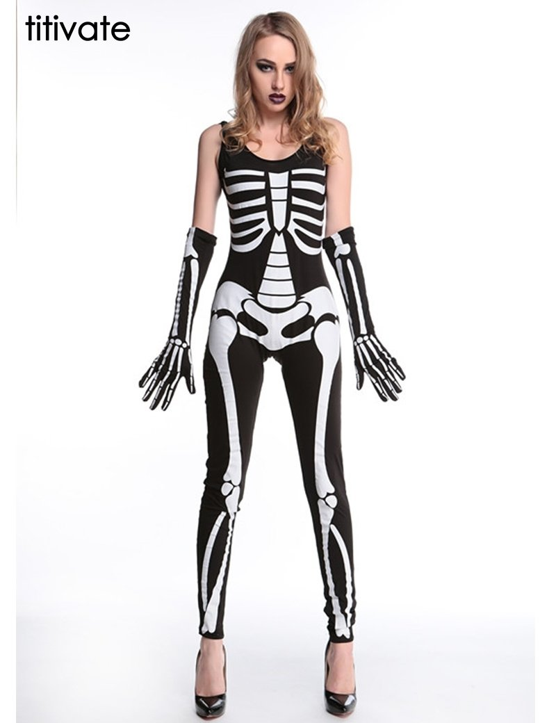 10 Stunning Halloween Costumes For Women Ideas titivate 2016 fashion brand women jumpsuit sexy halloween costume 1 2020