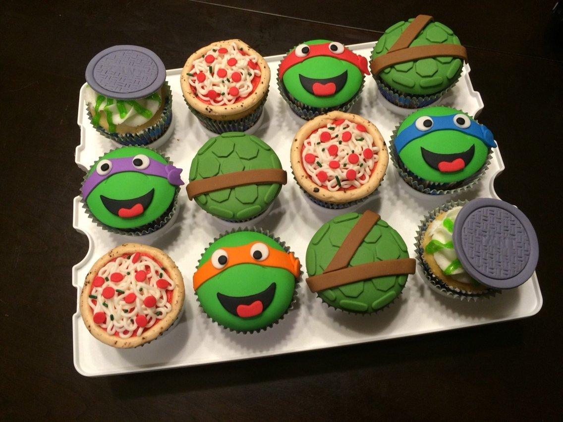 10 Attractive Teenage Mutant Ninja Turtles Cupcake Ideas tmnt cupcakes teenage mutant ninja turtle cupcakes turtle shell