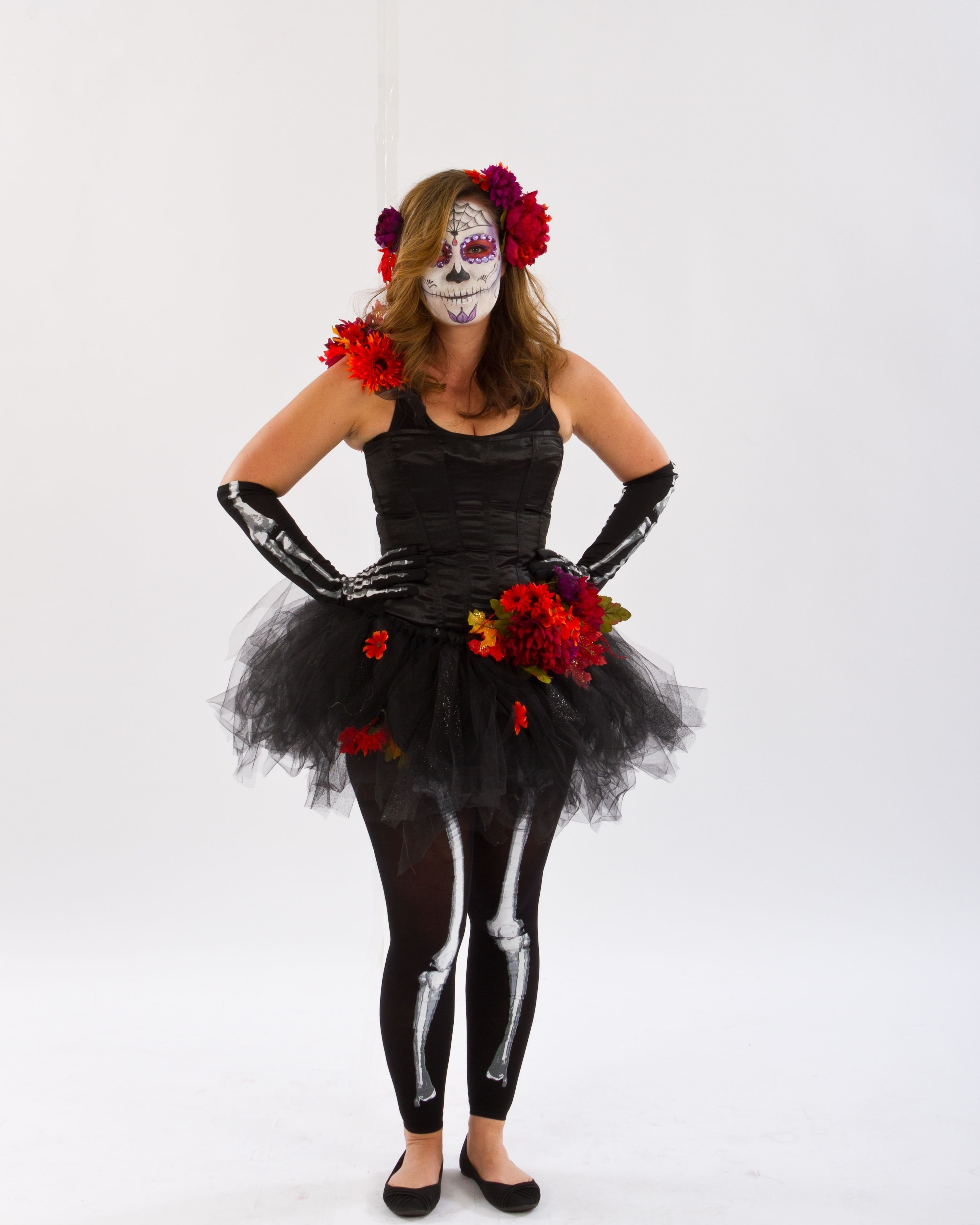 10 Great Day Of The Dead Halloween Costume Ideas to die for diy day of the dead costume starting with mix match 3 2020