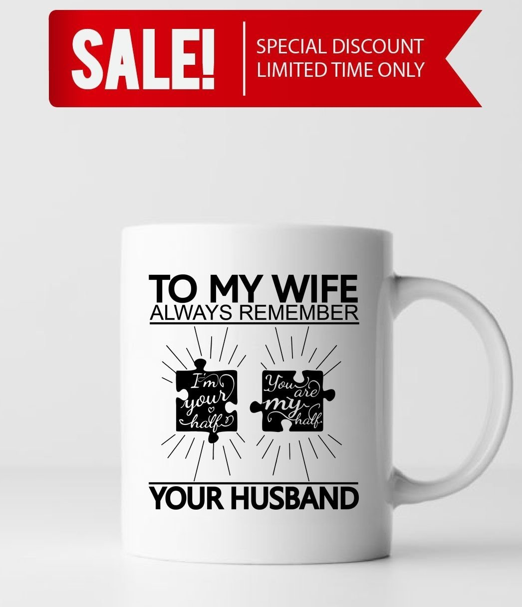 10 Gorgeous Great Birthday Ideas For Wife to my wife you are my half wife gift ideas wife gifts wife 6 2021
